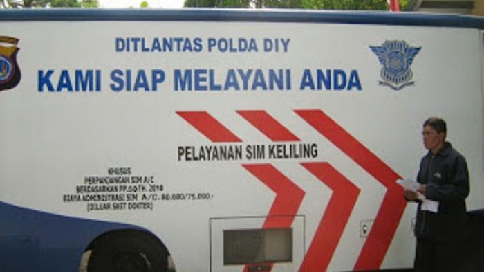 Lokasi Layanan SIM Keliling Jogja