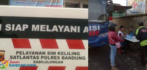 Jadwal SIM Keliling Bandung Juni 2016