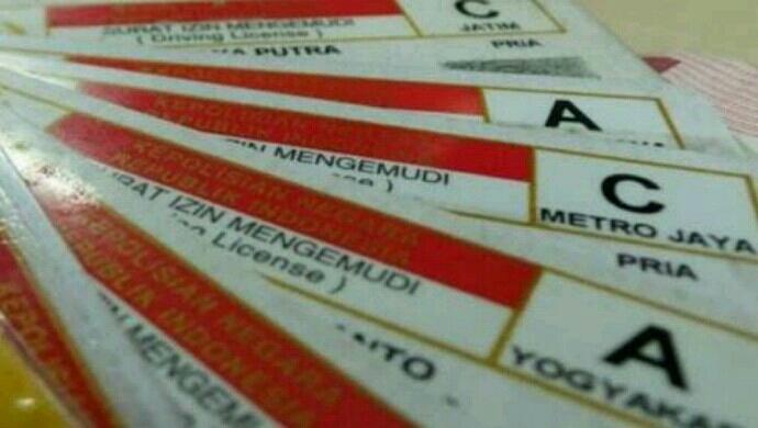 Biaya Perpanjangan SIM 2018