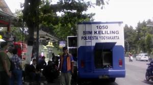 Jadwal Bus SIM Keliling Jogja, Senin 12 Juni 2017
