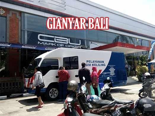 Jadwal SIM Keliling Gianyar Bali September 2021