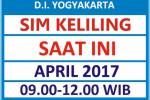 Jadwal SIM Keliling Hari ini April 2017