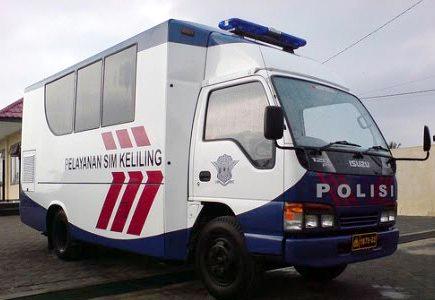 SIM Keliling Sleman Bulan Juni 2017