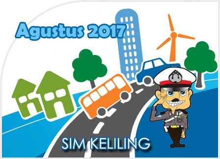 Jadwal SIM Keliling Yogyakarta Agustus 2017