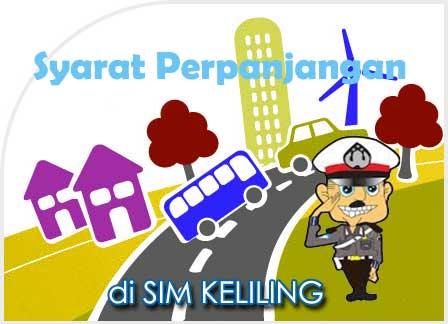 Syarat Perpanjangan SIM Keliling